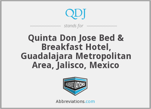 QDJ - Quinta Don Jose Bed & Breakfast Hotel, Guadalajara Metropolitan Area, Jalisco, Mexico
