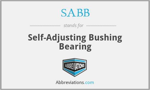 SABB - Self-Adjusting Bushing Bearing