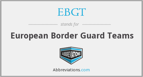 What does EBGT stand for?