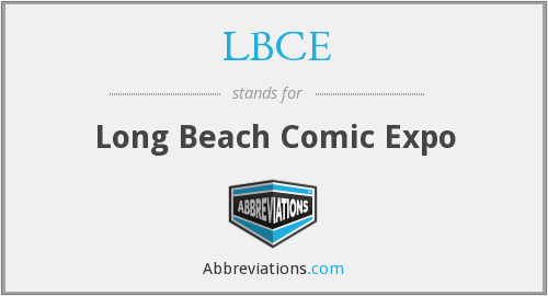 What does LBCE stand for?