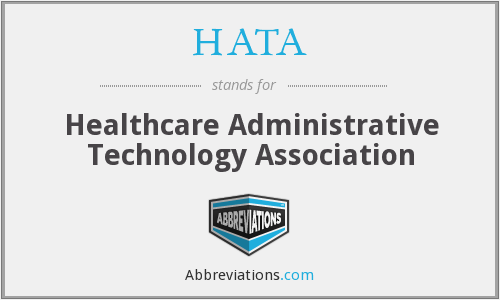 What does HATA stand for?