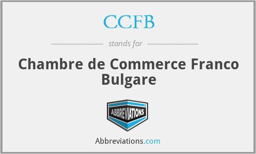 CCFB - Chambre de Commerce Franco Bulgare