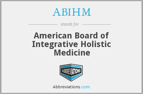 What does ABIHM stand for?