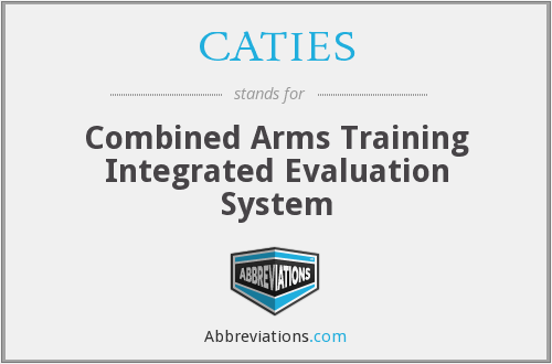 CATIES - Combined Arms Training Integrated Evaluation System