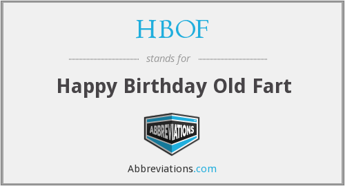 What does HBOF stand for?