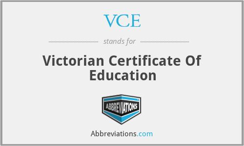 Kết quả hình ảnh cho vce certificate