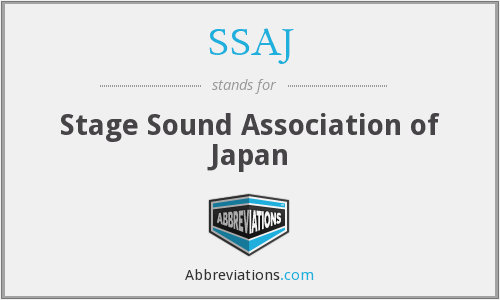 What does SSAJ stand for?