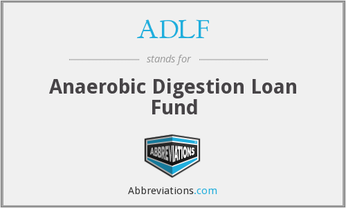 ADLF - Anaerobic Digestion Loan Fund