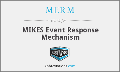 What does MERM stand for?