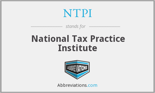 What does NTPI stand for?