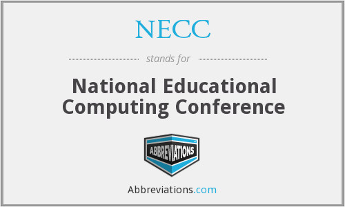 What does NECC stand for?