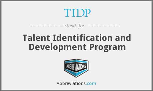 What does TIDP stand for?