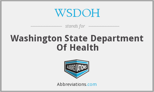 WSDOH - Washington State Department Of Health
