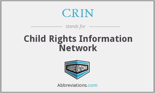What does CRIN stand for?