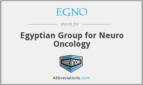 What does EGNO stand for?