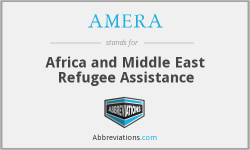 What does AMERA stand for?