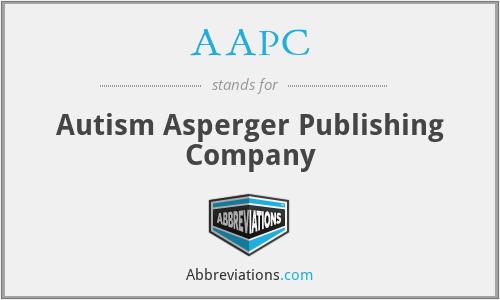 AAPC - Autism Asperger Publishing Company