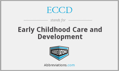 What does ECCD stand for?