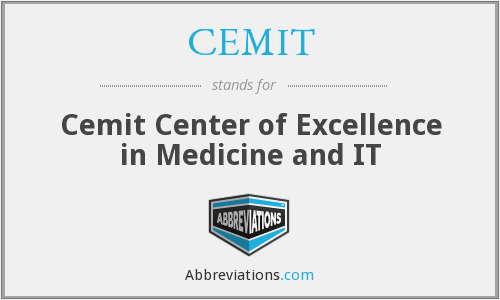What does CEMIT stand for?