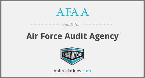 What does AFAA stand for?