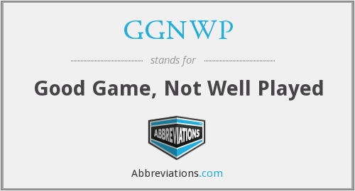 What does GGNWP stand for?