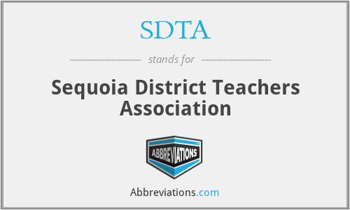 SDTA - Sequoia District Teachers Association