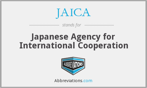What does JAICA stand for?