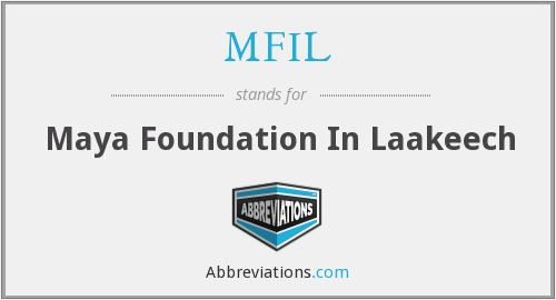 What does MFIL stand for?