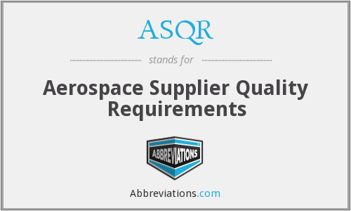 What does ASQR stand for?