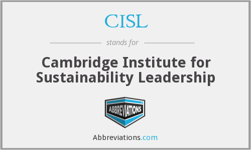 What does CISL stand for?