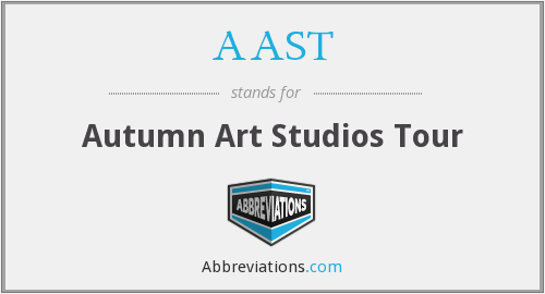 AAST - Autumn Art Studios Tour