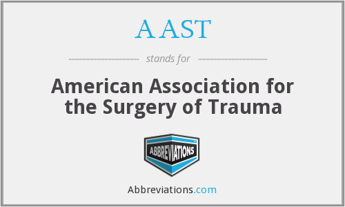 AAST - American Association for the Surgery of Trauma