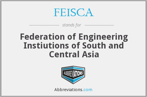 What does FEISCA stand for?