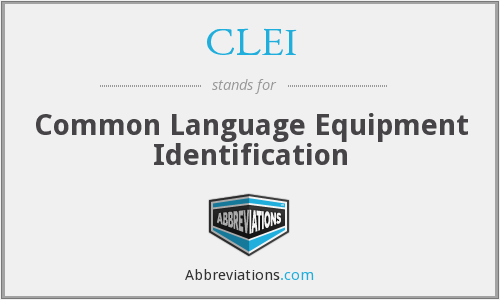 What does CLEI stand for?