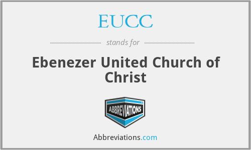 EUCC - Ebenezer United Church of Christ