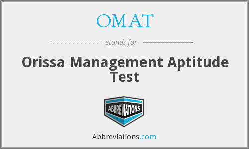 What does OMAT stand for?