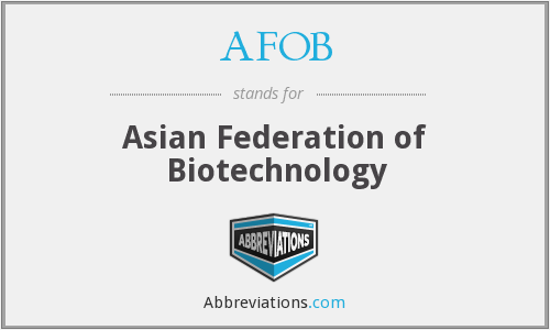 What does AFOB stand for?