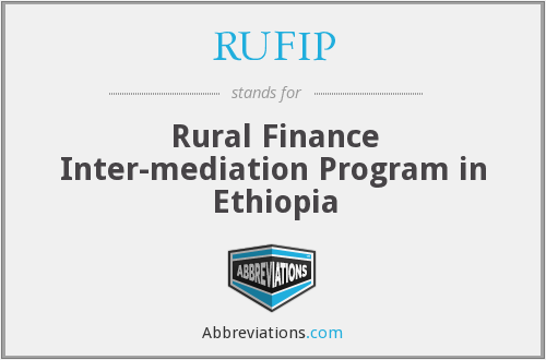 What does RUFIP stand for?