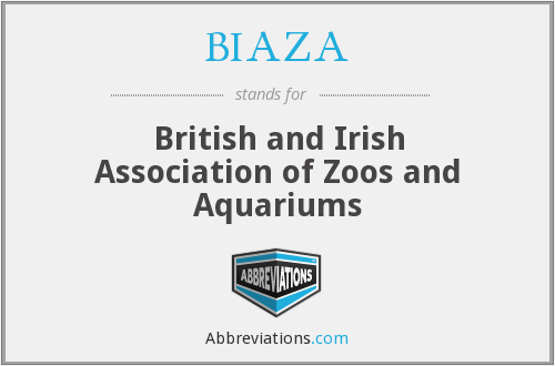 What does BIAZA stand for?