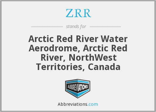 ZRR - Arctic Red River Water Aerodrome, Arctic Red River, NorthWest Territories, Canada