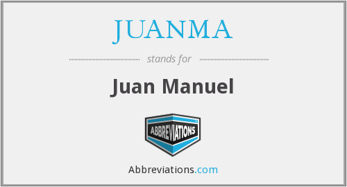 What does JUANMA stand for?