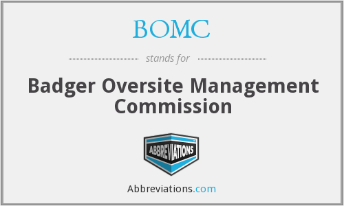 BOMC - Badger Oversite Management Commission