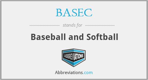 BASEC - Baseball and Softball