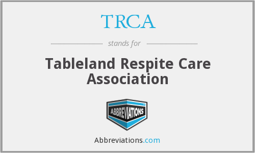 What does TRCA stand for?
