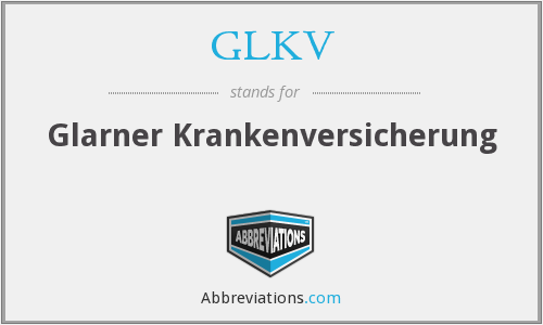 What does GLKV stand for?