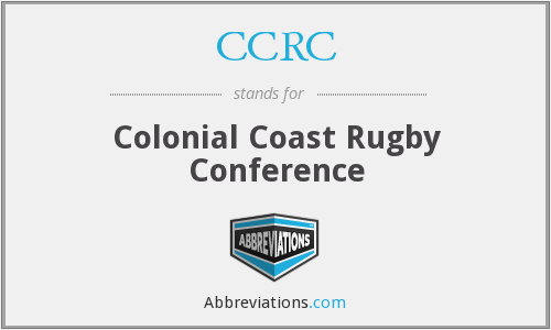 CCRC - Colonial Coast Rugby Conference