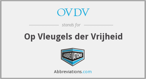 What does OVDV stand for?