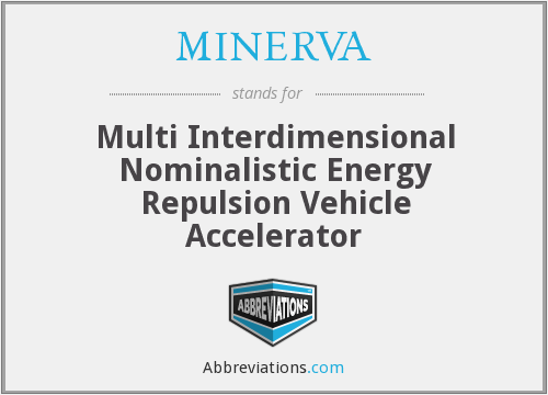 What does MINERVA stand for?