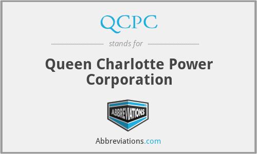 QCPC - Queen Charlotte Power Corporation