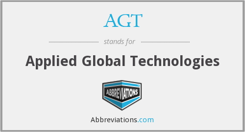 AGT - Applied Global Technologies
